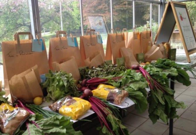 Puurland-groentenpakketten