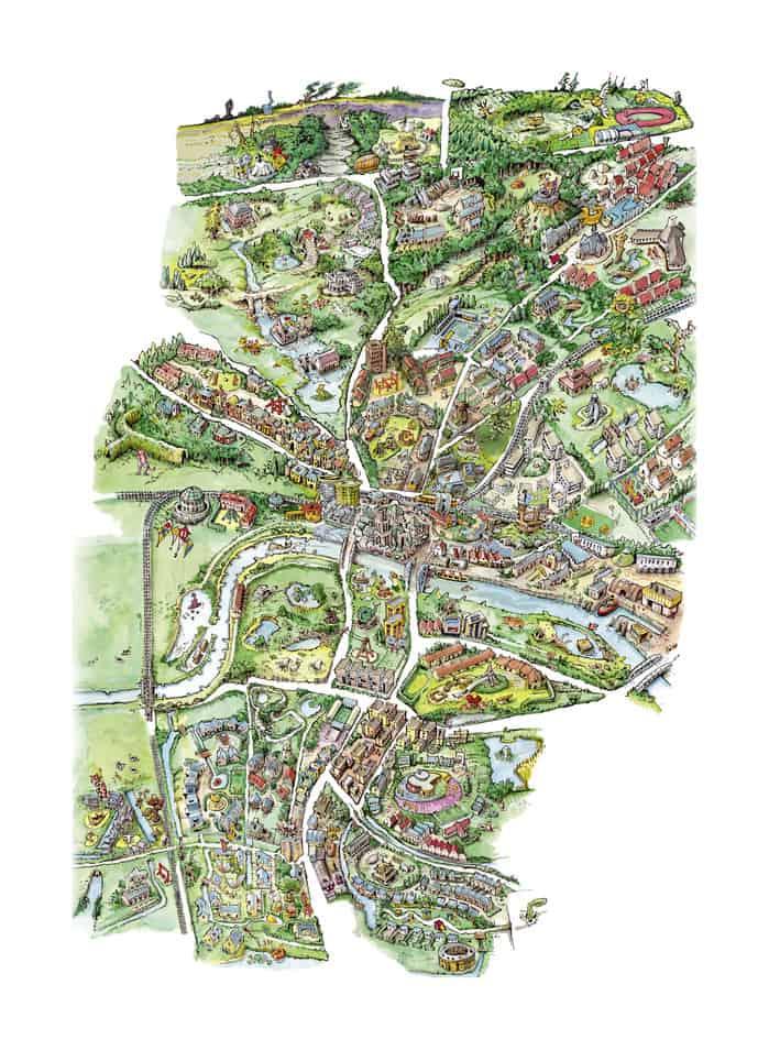 buitenspelen kaart Arnhem
