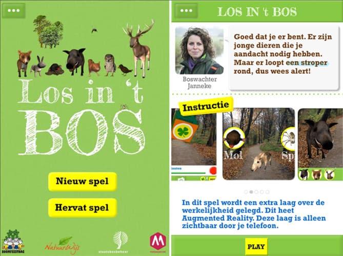 app-los-in-het-bos