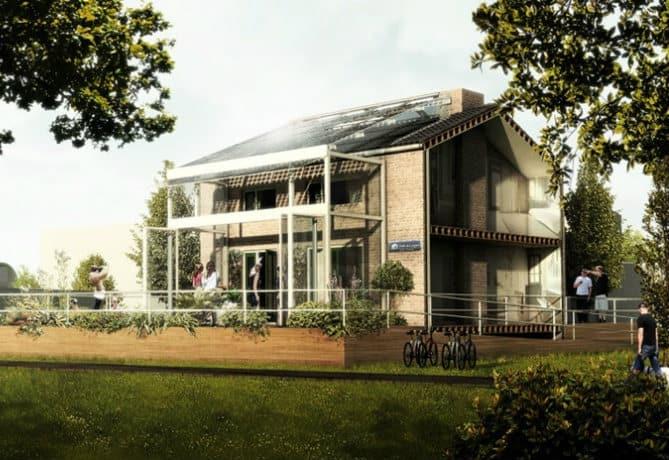 Duurzame woning TU Delft
