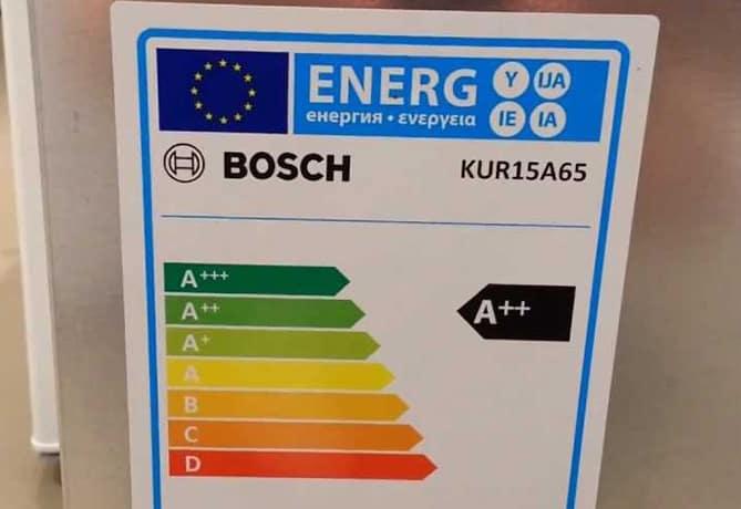 energielabel-Bloei!