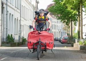 Cycloon fietskoerier Arnhem