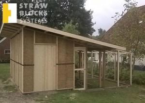Straw-Block-System