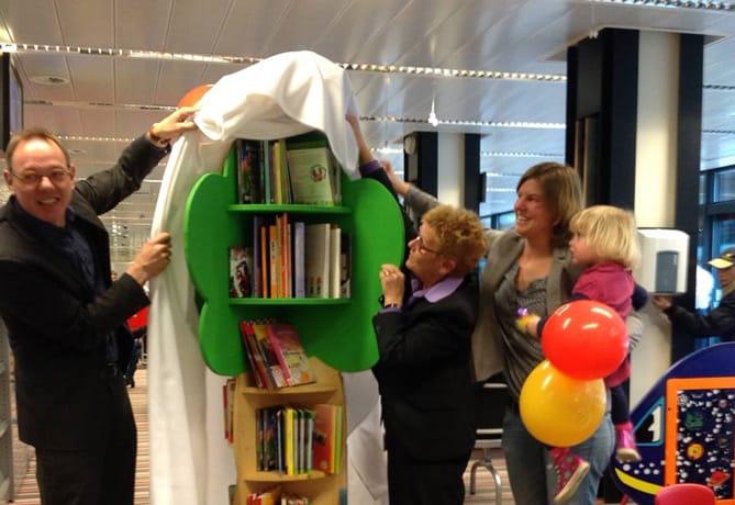 Kinderzwerfboekenstation Arnhem