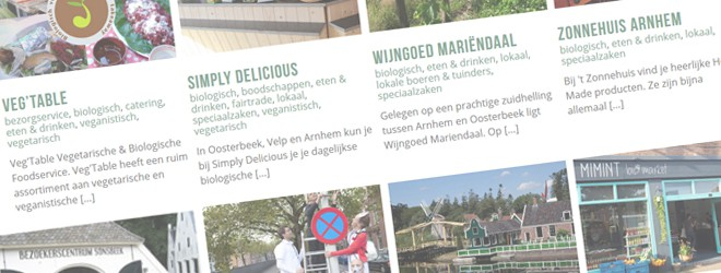 Bloei!Gids -duurzame adressen Arnhem