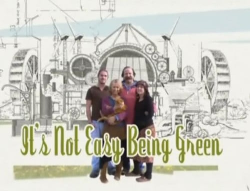 BBC serie It's not easy being green
