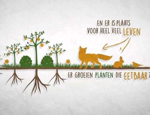 Voedselbossen geopend in Park Lingezegen