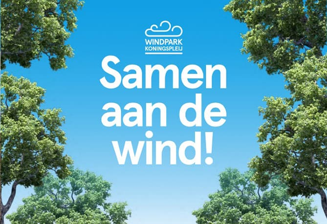 samenaandewind-Windpark-Koningspleij