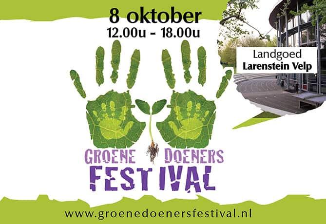 Groene Doeners Festival 8 oktober