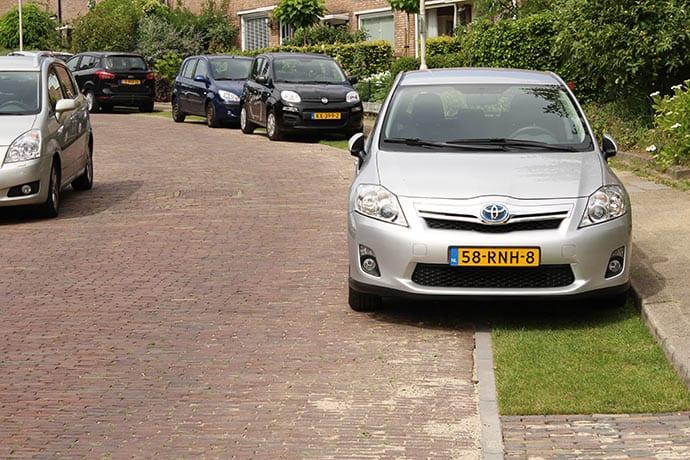 groen-parkeren-Bremstraat Arnhem