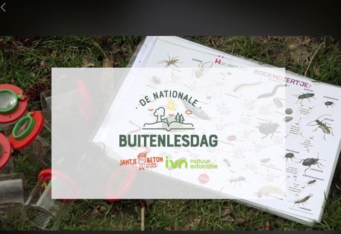 buitenlesdag scholen Natuurcentrum Arnhem