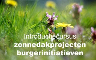 Introductie-zonndakprojecten-burgerinitiatieven