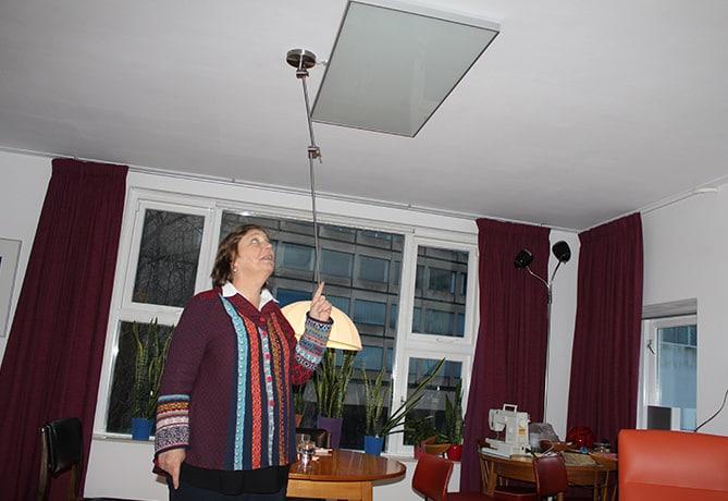 Helga-infraroodpanelen