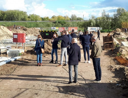 Bouw 61 energieneutrale woningen ecowijk De Kiem gestart