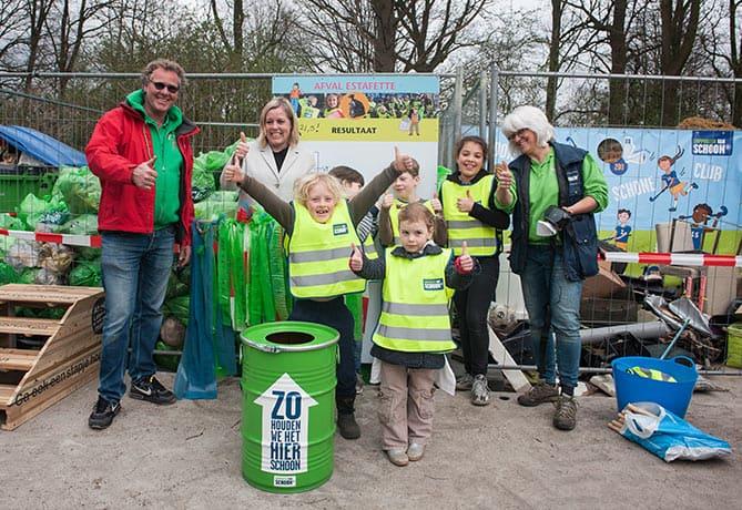 Natuurcentrum Arnhem - Opbrengst Afvalestafette Anhem 18-23 maart