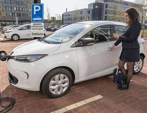 Subsidie voor elektrische deelauto's