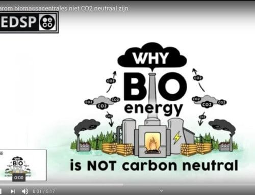 Waarom biomassacentrales niet CO2 neutraal zijn