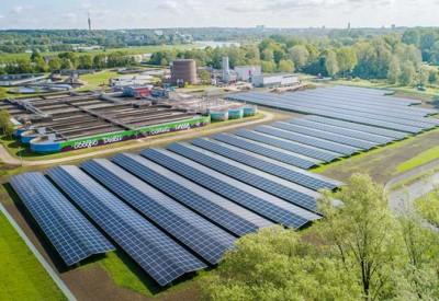 zonnepark Waterschap Gelderland