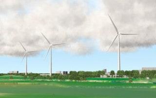 Windpark-Koningspleij