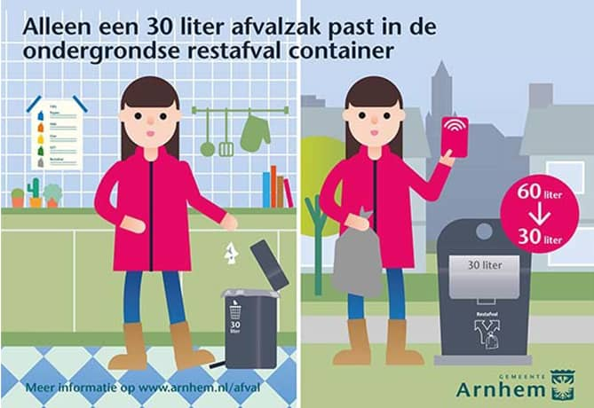 afvalzak-gehalveerd-gemeente-Arnhem