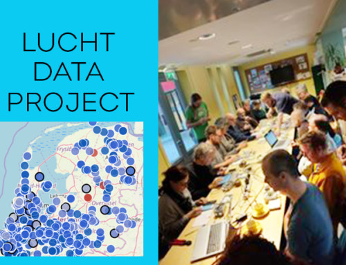 Luchtdata project heel succesvol