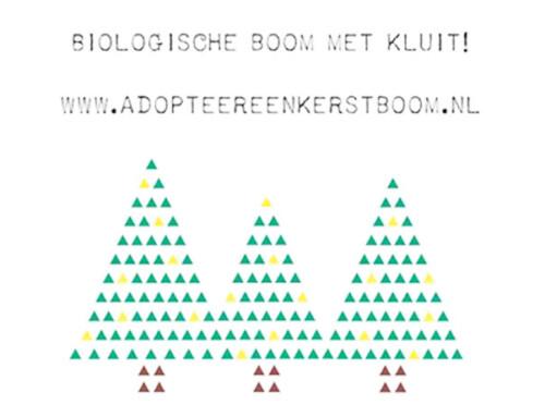 Duurzame adoptiekerstboom 10 jaar in Arnhem