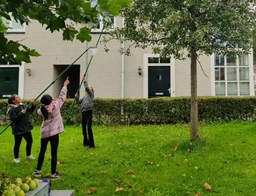 Aftrap van een seizoen 'Met je school de boom in'!